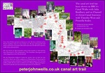 Link to peter john wells art trail map